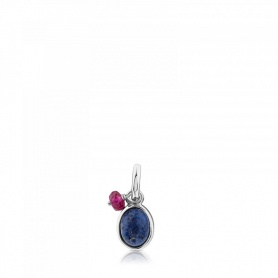 Tous silver pendant and dumortierite - 712314640