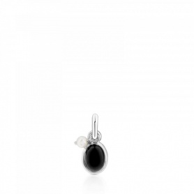 Ciondolo Tous in argento ed Onice - 712314580