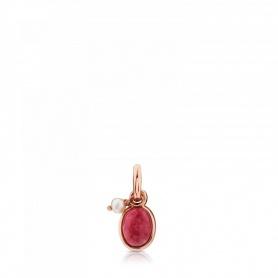 Ciondolo Tous in argento rosè e rodocrosite - 712314620