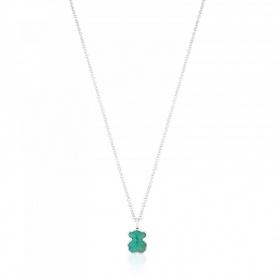 Collana Tous New Color orsetto in  Amazzonite - 615434510