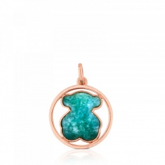 Tous Camille Large Pendant with Green Amazonian - 712164640