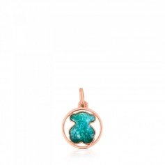 Tous Camille Small Pendant with Green Amazonite - 712164630