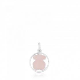 Pendente Tous Camille piccolo con quarzo rosa - 712164660
