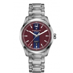 Hamilton Broadway Day Date Watches Bordeaux and Blue Cars - H43515175