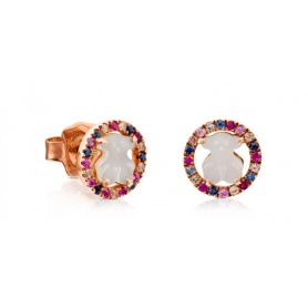 Tous Camille Earrings with Mother of Pearl Multicolor Stone - 712163520