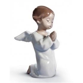Skulptur Lladrò Angelo Schwanger im Porzellan - 01004538