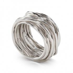 Thirteen Silver Thread Filodellavita Ring - AN13A