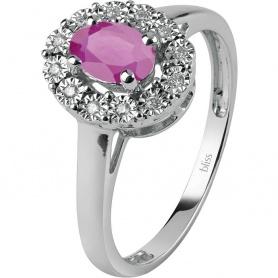 Bliss Regal Ring mit Rubuno und Diamanten - 20073984