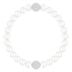 Swarovski bracelet Remix collection with pearls