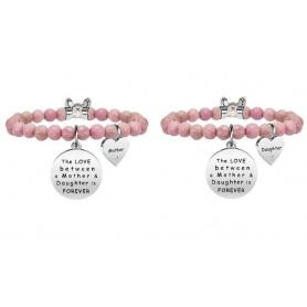 Set two bracelets Kidult Mamma-Daughter woman - 731124
