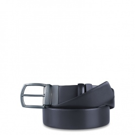 Men's belt with double face Coll.42 - CU3414C42 / BLU