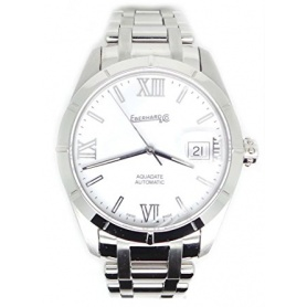 Eberhard Aquadate Automatic White Watch - 41115.S.CA