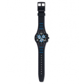 Swatch Black Spy Watch - SUSB410