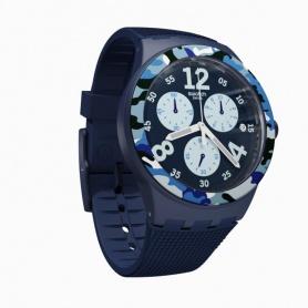 Swatch Camoblu Chronograph Uhr - SUSN414