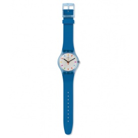 Swatch Color Square blue unisex watch - SUON125