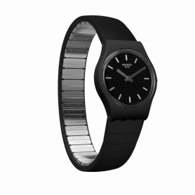 Swatch Flexiblack L unisex watch - LB183A