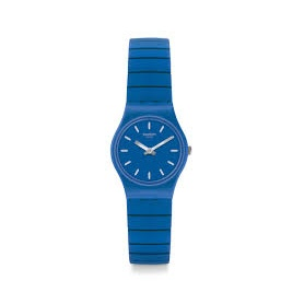 Swatch Flexiblu L Blue Watch unisex - LN155A