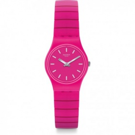 Swatch Flexipink L unisex watch - LP149A