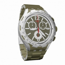 Swatch Green Attack Chronograph Clock - YYS4022AG