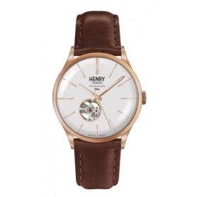 Orologio vintage Henry London Heritage Automatic rosè HL42AS0276