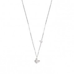 Salvini Necklace Be Happy Chic Pendant butterfly with diamond