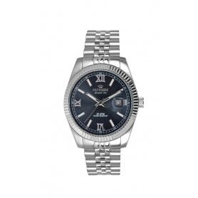 Orologio donna Pryngeps in acciaio modello DateJust blu - A822