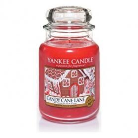 Candela Yankee Candle Candy Cane Lane giara grande 1308384E