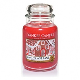 Yankee Candle Candy Cane Lane large jar 1308384E