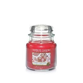 Yankee Candle Candy Cane Lane Medium Glas 1308385E