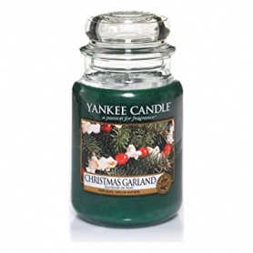Yankee Candle Christmas Garland large jar - 1316480E