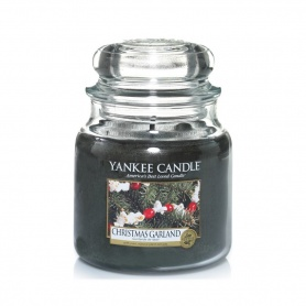 Candela Yankee Candle Christmas Garland giara media - 1316481E