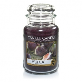 Candela Yankee Candle Wild Fig giara grande - 1315000E