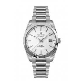 Pryngeps watch in steel DateJust model white - A1027