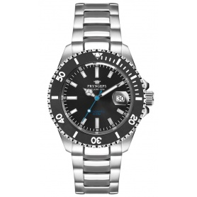 Pryngeps Mediterranean Submariner automatic watch black