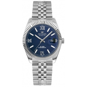 Pryngeps man watch in steel DateJust blue model - A821