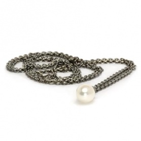 Silver necklace with Pearl-54100