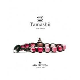 Bracciale Tamashii Agata Ciliegia striata un giro- BHS900-164