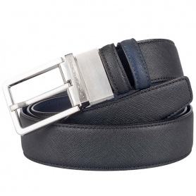 Double-face men's belt Piquadro Crayon CU3051AY / NB