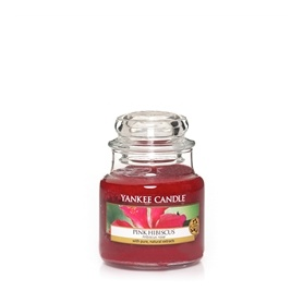 Candela Yankee Candle Pink Hibiscus giara piccola - 1302667E
