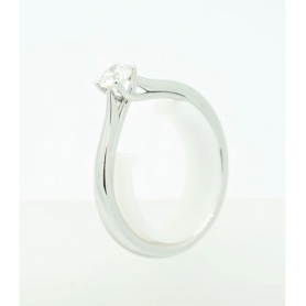 Giorgio Visconti Solitaire Ring mit Diamante ct0,20 - AB16304B