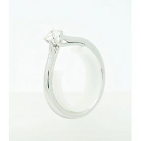 Giorgio Visconti Solitaire Ring with Diamante ct0.20 - AB16304B