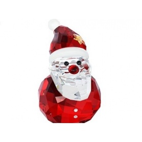 Swarovski Rocking Santa, Santa Claus in crystal out of production