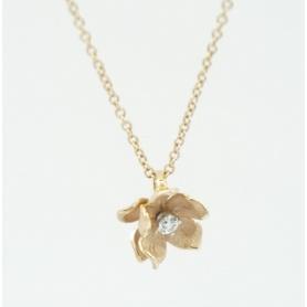 Collana Annamaria Cammilli fiore piccolo con diamante GPE1826P