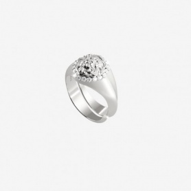 Rebecca Lion collection, silver little finger ring - SLIAAA01