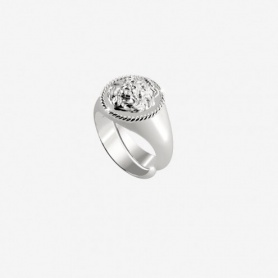 Rebecca Lion collection, silver little finger ring - SLIAAA02