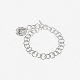 Rebecca collezione Lion bracciale catena argento con moneta