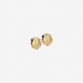 Rebecca Lion Kollektion, goldene Silberohrringe - SLIOAA04