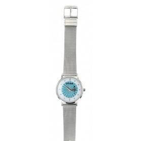 Le Carose Uhr, Porto Wild, Silber Milanese Strickband - SILM06
