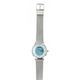 Le Carose watch, Porto wild, silver Milanese knit strap- SILM06