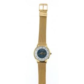 Le Carose Uhr, Porto Wild, Milanese Strickarmband vergoldet - SILM01